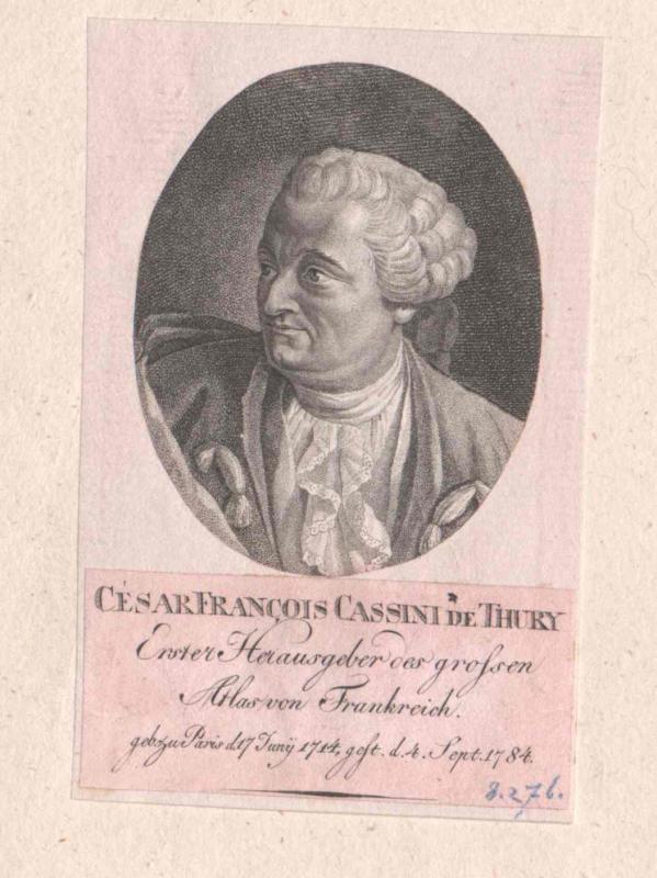 Cassini de Thury, César Francois
