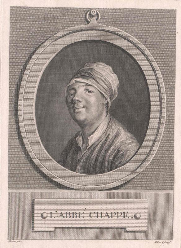 Chappe d'Auteroche, Jean