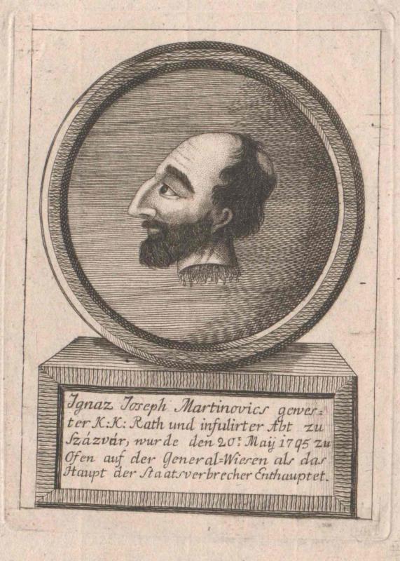 Martinovics, Ignaz Josef