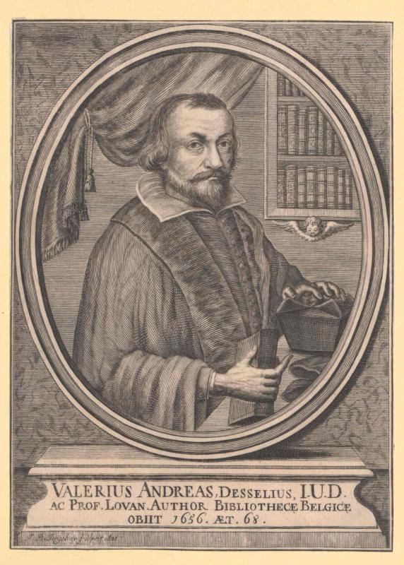 Andreas Desselius, Valerius