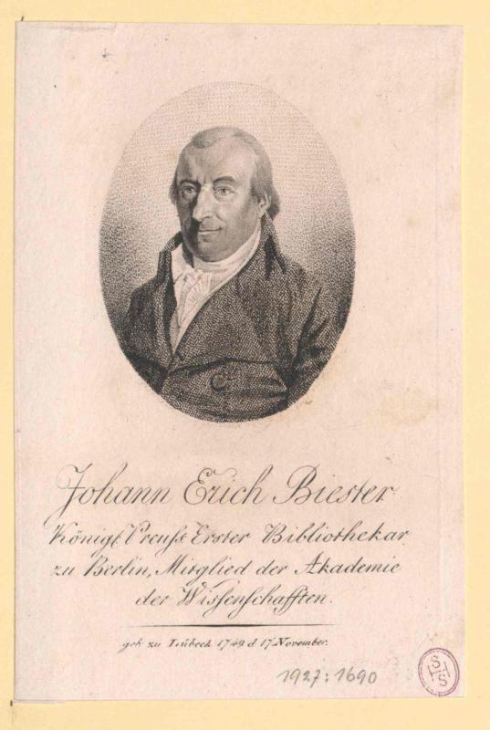 Biester, Johann Erich