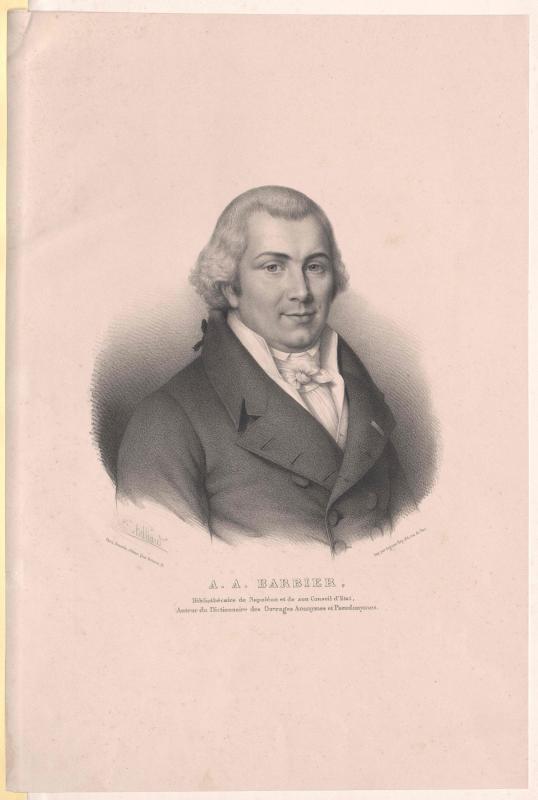 Barbier, Antoine-Alexandre