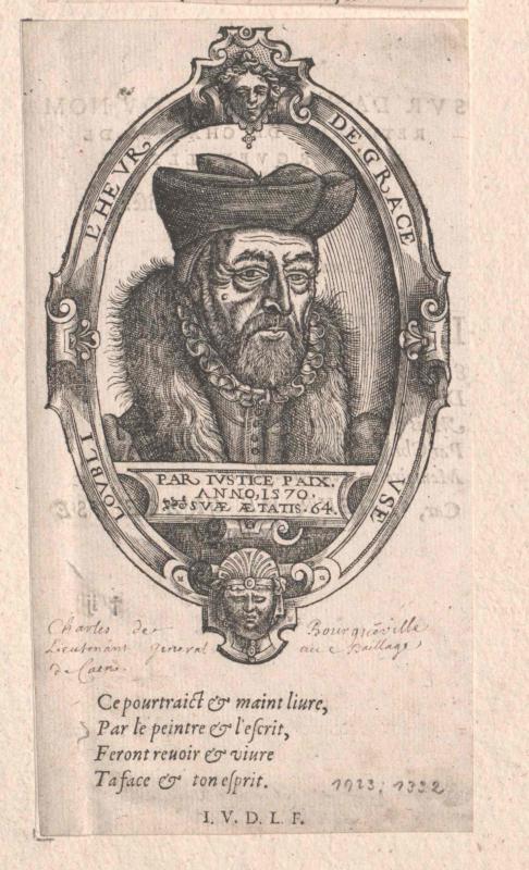 Bourgueville, Charles de