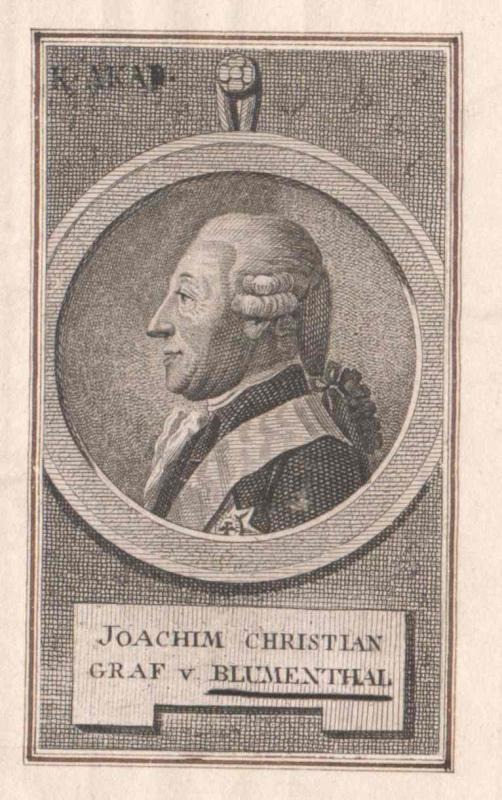 Blumenthal, Joachim Christian Graf