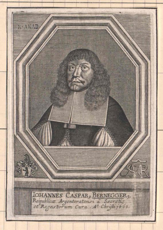 Bernegger, Johann Kaspar