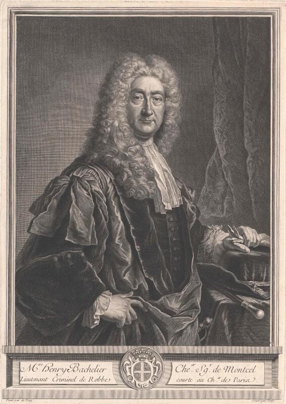 Bachelier, Chevalier Seigneur de Montcel, Henry