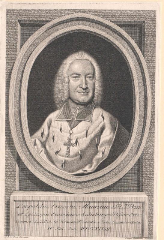 Firmian, Leopold Ernst Graf