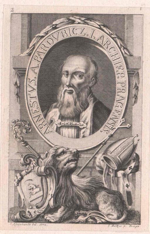 Arnestus von Pardubitz
