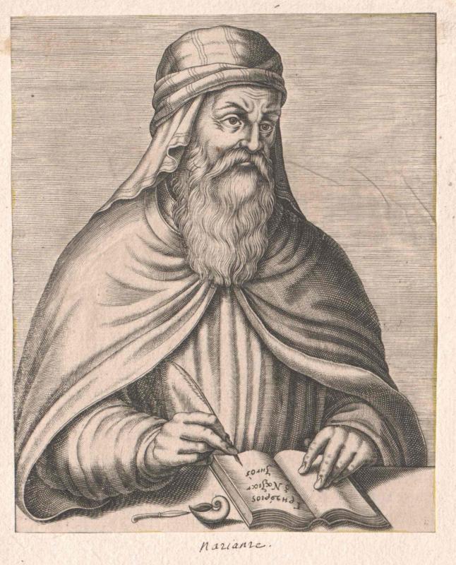 Gregor von Nazianz, Heiliger