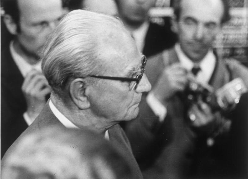 Wiederwahl von Franz Jonas zum Bundespräsidenten