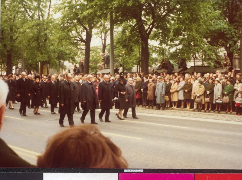 Begräbnis von Bundespräsident Jonas