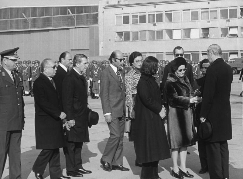 Verabschiedung des ermordeten türkischen Botschafters in Schwechat