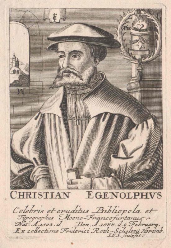 Egenolff, Christian