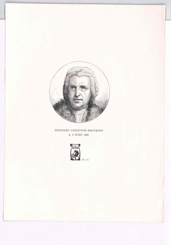 Breitkopf, Bernhard Christoph