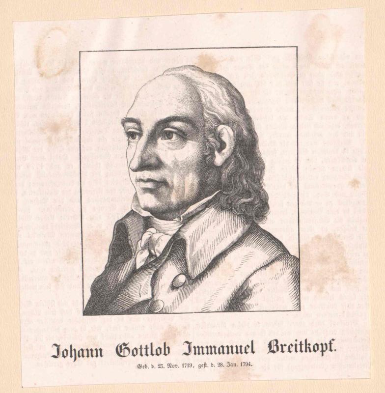 Breitkopf, Johann Gottlob Immanuel