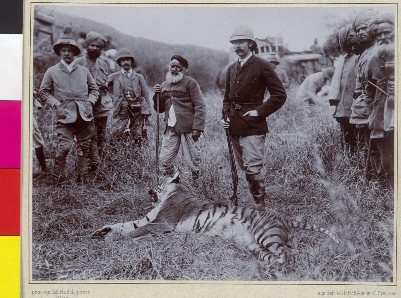 """Indien: Siriska. """"Der zweite Tiger"""""""