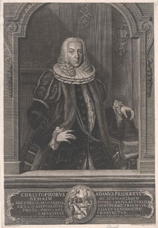 Behaim von Schwarzbach, Christoph Adam Friedrich