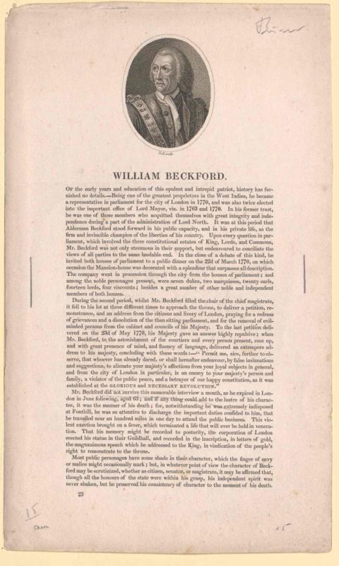 Beckford, William