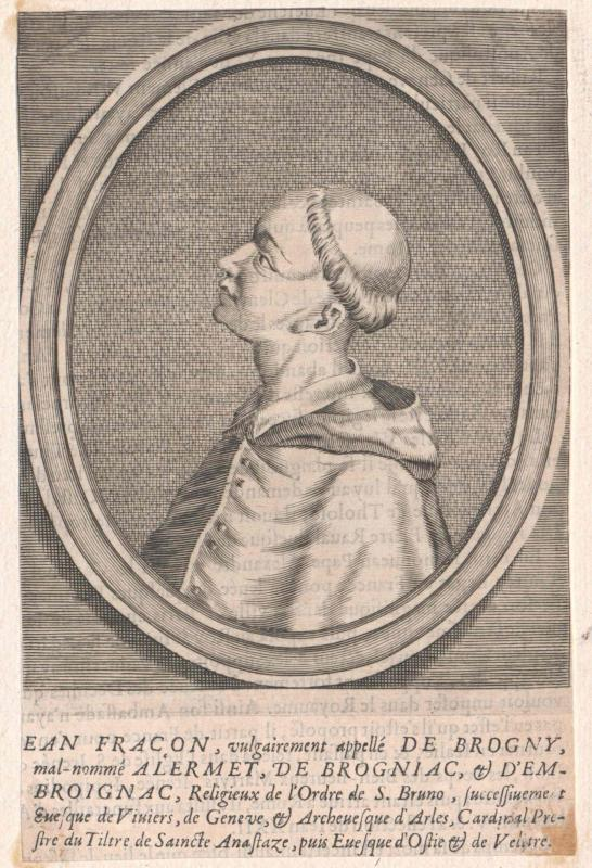 Brogny, Jean Allarmet Fraçon de