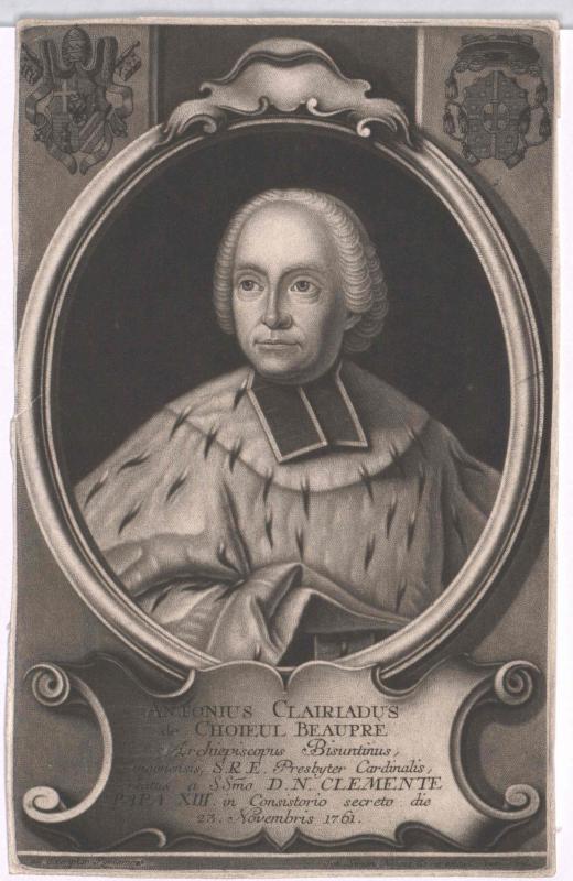 Choiseul de Beaupré, Antoine Clairiard de