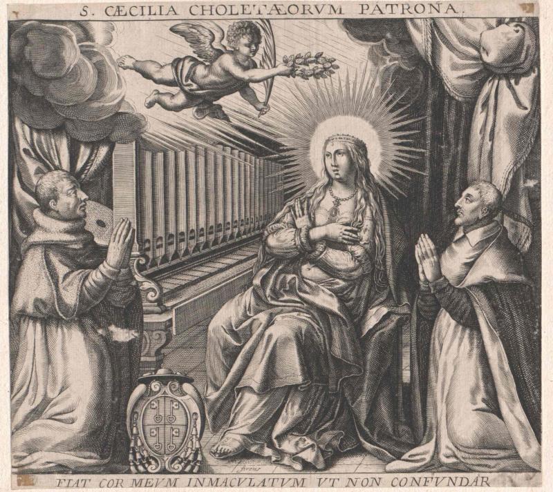 Cäcilia von Rom, Heilige