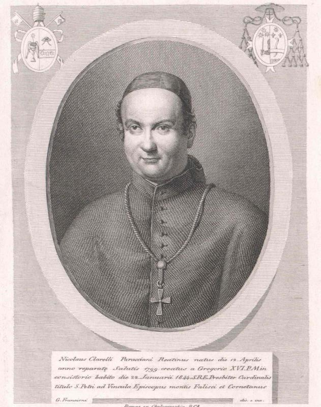 Clarelli Paracciani, Niccolò