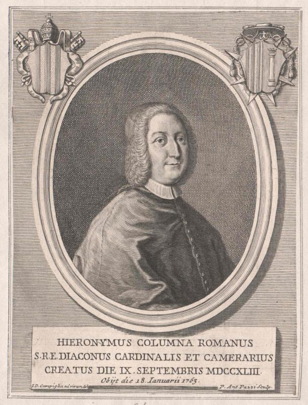 Colonna di Sciarra, Girolamo