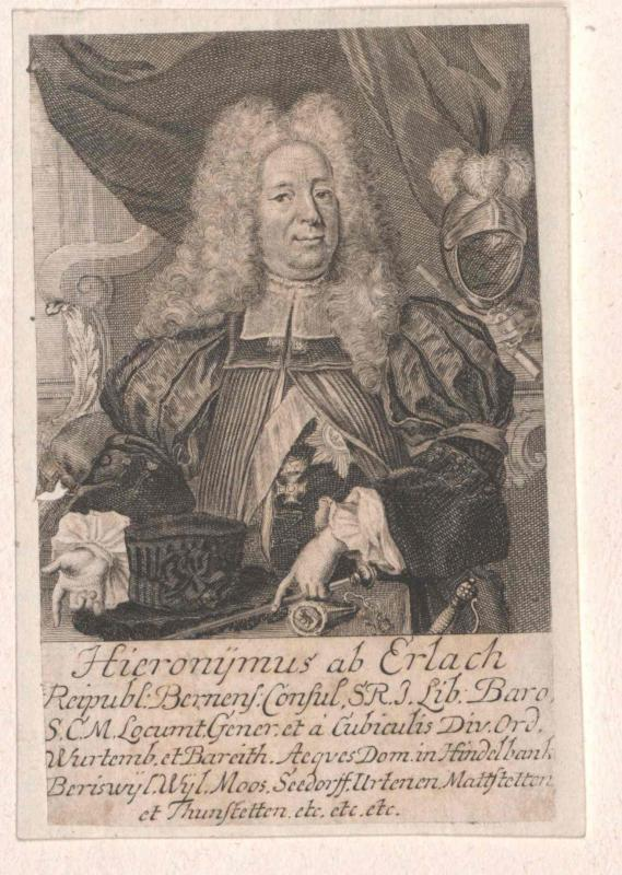 Erlach, Hieronymus Graf von