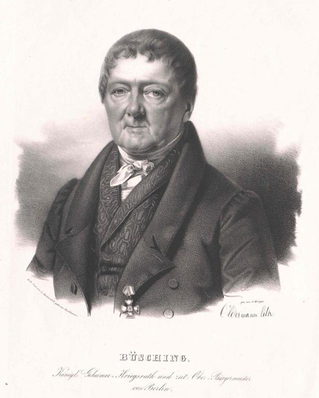Büsching, Johann Stephan Gottfried