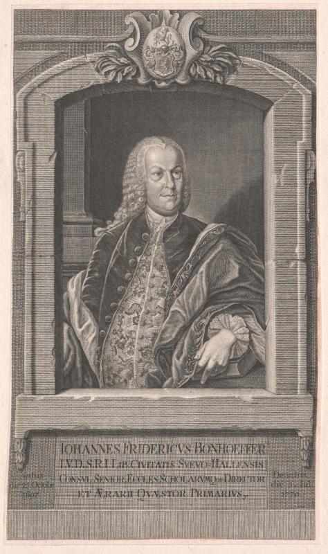 Bonhoeffer, Johann Friedrich