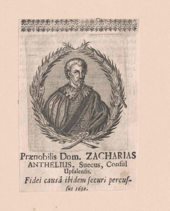 Anthelius, Zacharias