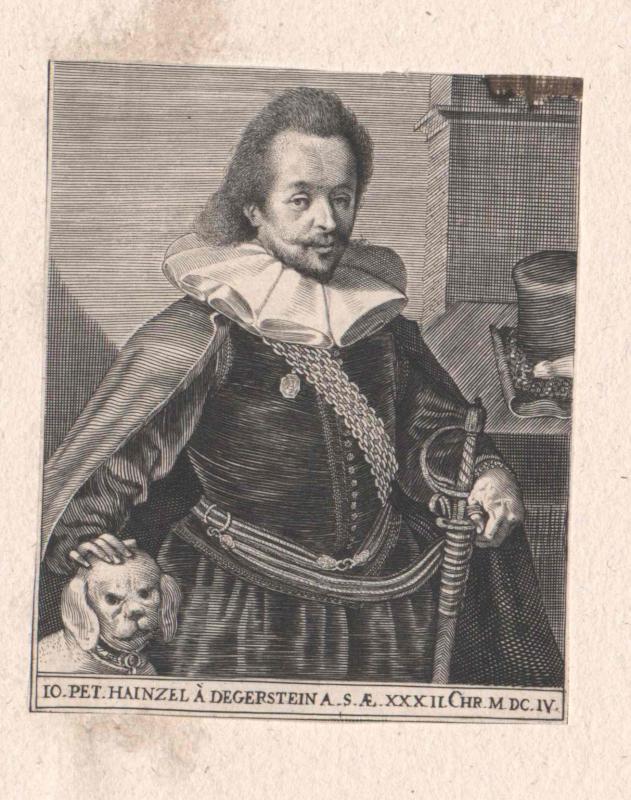 Hainzel von Degerstein, Johann Peter