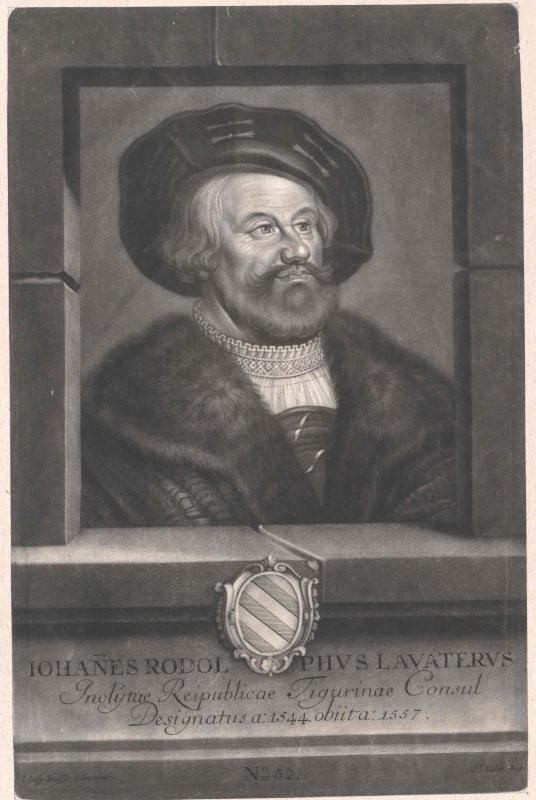 Lavater, Johann Rudolf