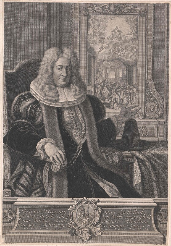 Löffelholz von Colberg, Johann Hieronymus