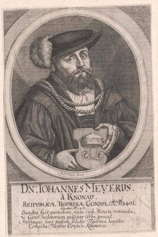 Meyer von Knonau, Johann