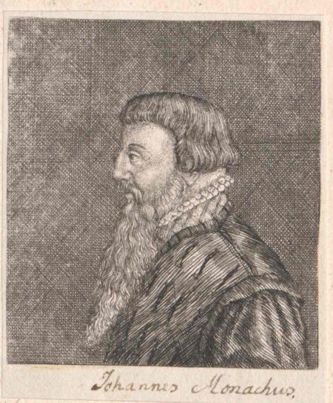 Monachus, Johann