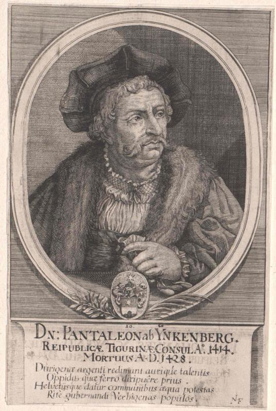 Inkenberg, Pantaleon von