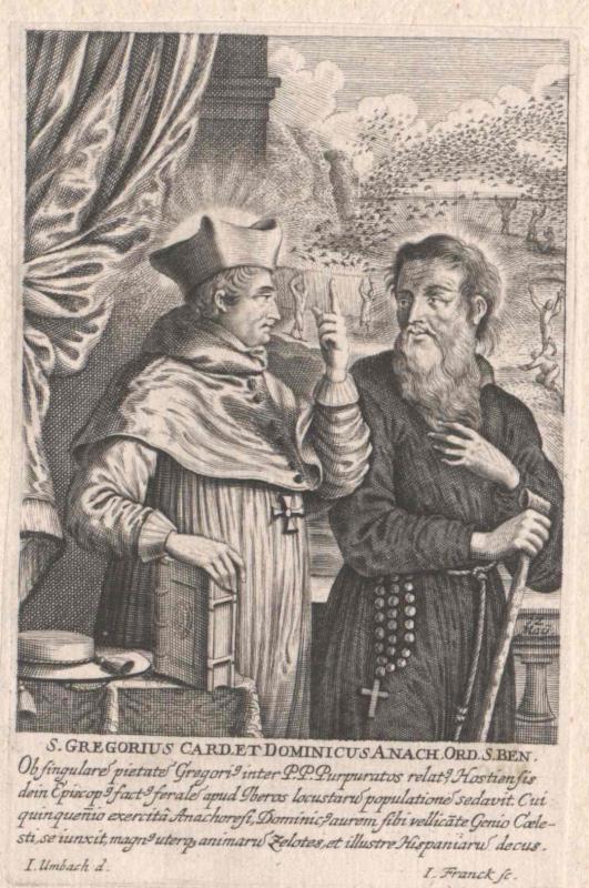 Gregor von Ostia, Heiliger