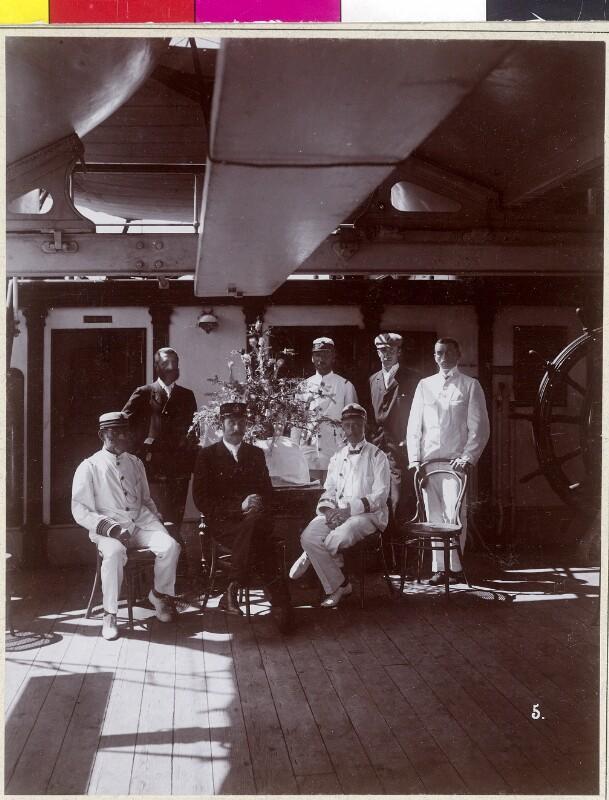 Weihnachtsabend 1892 an Bord der S.M.S Kaiserin Elisabeth