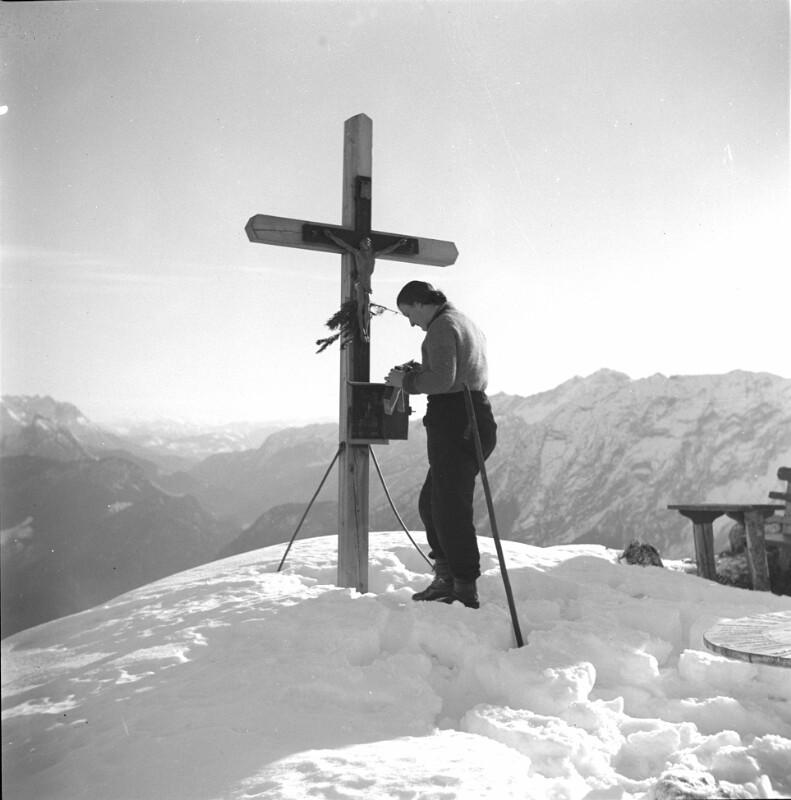 Grubhörndl-Gipfelkreuz