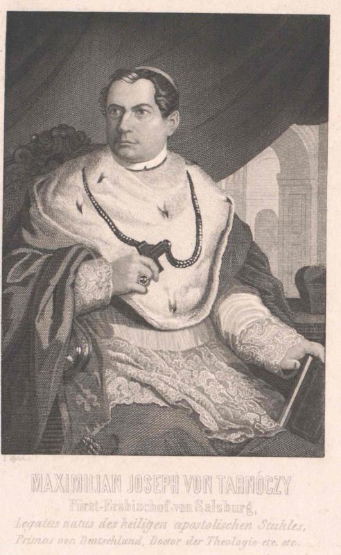 Tarnóczy-Sprinzenberg, Maximilian Josef von