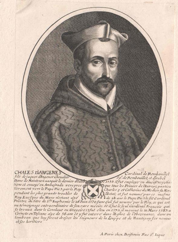 Angennes de Rambouillet, Charles d'