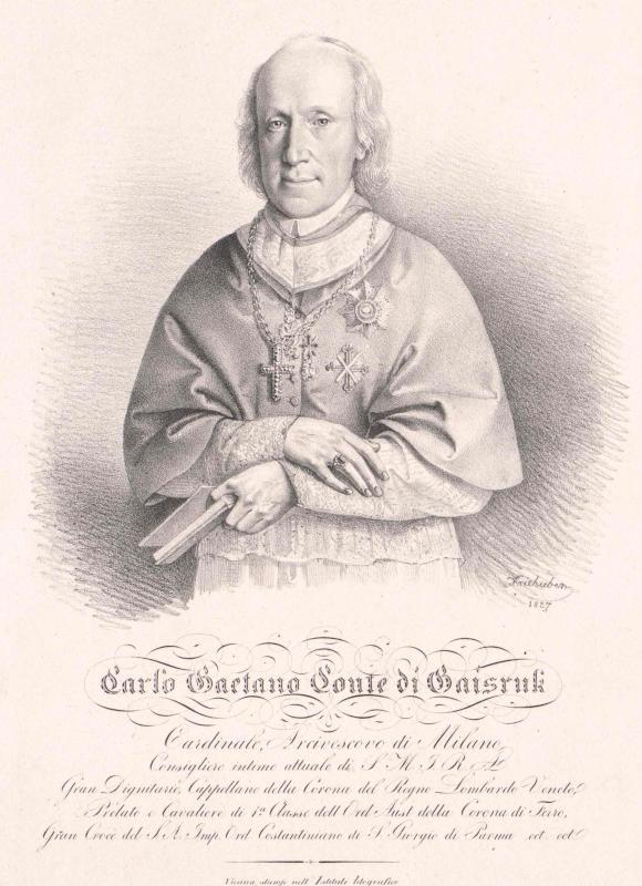 Gaisruck, Karl Kajetan Graf