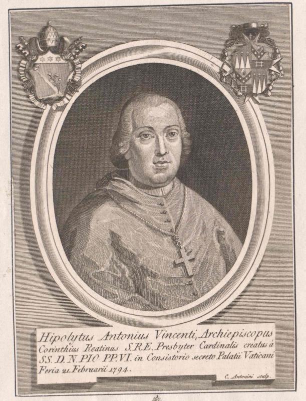 Vincenti Mareri, Ippolito Antonio