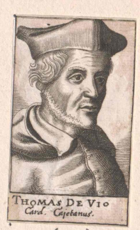 Cajetan, Thomas de Vio