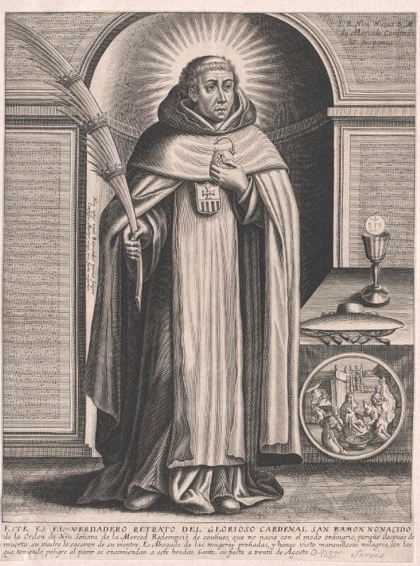 Raimundus Nonnatus, Heiliger