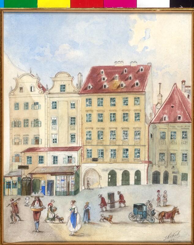 """Wien 1, """"Der Fischhof"""""""