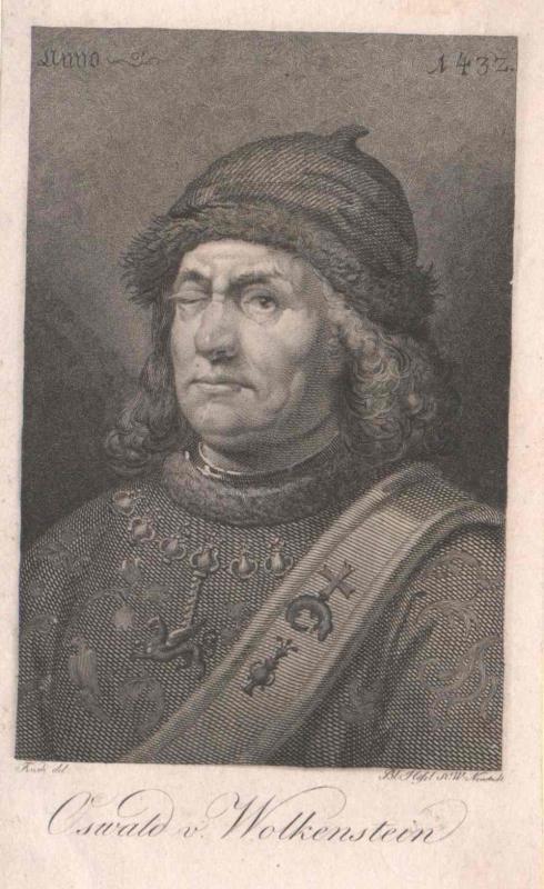 Wolkenstein, Oswald von