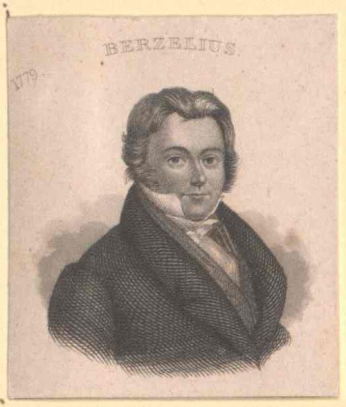 Berzelius, Jöns Jakob Freiherr von