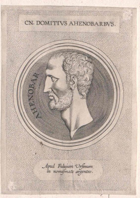 Domitius Ahenobarbus, Gnaeus